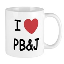 I heart pb and j Mug