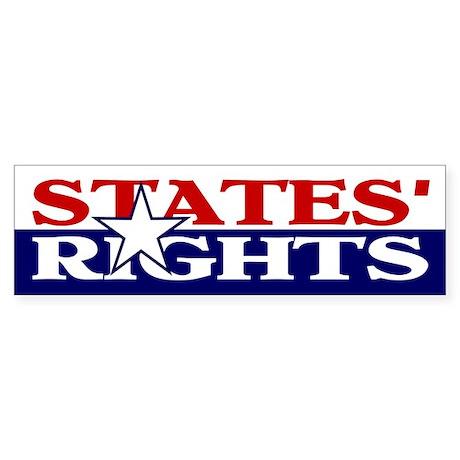 Bumper Sticker, States Rights