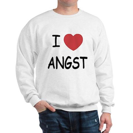 I heart angst Sweatshirt