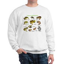 Frogs Species of Minnesota Sweater