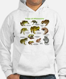 Frogs Species of Minnesota Hoodie Sweatshirt