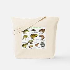 Frogs Species of Minnesota Tote Bag