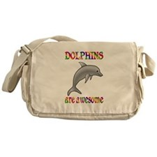 Awesome Dolphins Messenger Bag