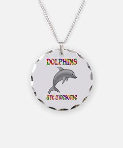 Awesome Dolphins Necklace