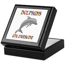 Awesome Dolphins Keepsake Box