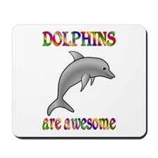 Awesome Dolphins Mousepad