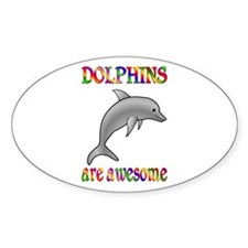 Awesome Dolphins Decal