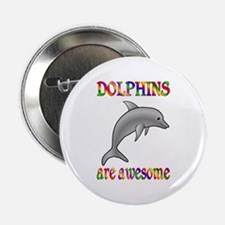 """Awesome Dolphins 2.25"""" Button"""