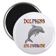 Awesome Dolphins Magnet