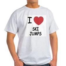 I heart ski jumps T-Shirt