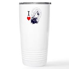 Wolf Lover Travel Mug