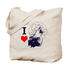 Wolf Lover Tote Bag
