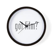 Got film? Wall Clock