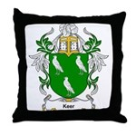 Keer Coat of Arms Throw Pillow