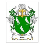 Keer Coat of Arms Small Poster