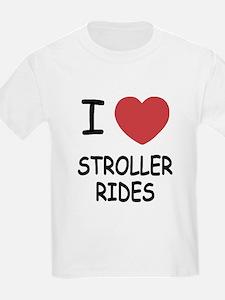 I heart stroller rides T-Shirt