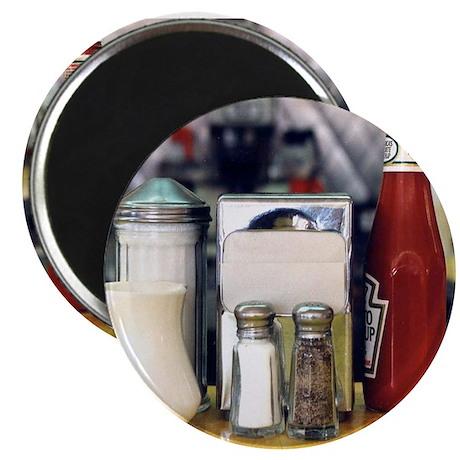 "Diner Series: Ketchup 2.25"" Magnet (10 pack)"