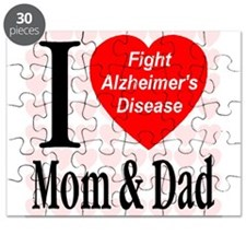 Fight Alzheimer's Disease Puzzle