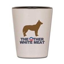 Dog, The Other White Meat Shot Glass