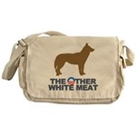 Dog, The Other White Meat Messenger Bag
