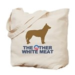 Dog, The Other White Meat Tote Bag