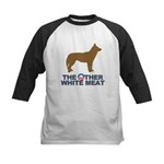 Dog, The Other White Meat Kids Baseball Jersey