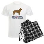 Dog, The Other White Meat Men's Light Pajamas