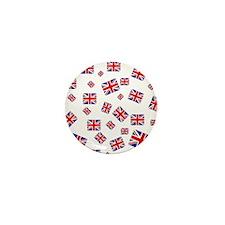 Cute Britain Mini Button (10 pack)
