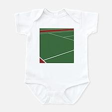 Tennis Court Infant Bodysuit