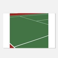 Tennis Court Postcards (Package of 8)
