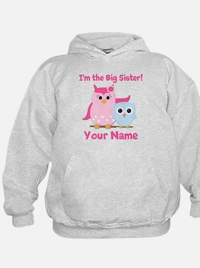 Big Sister Owl Hoodie
