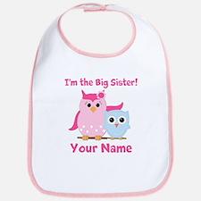 Big Sister Owl Bib