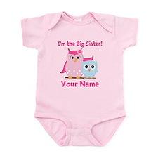 Big Sister Owl Infant Bodysuit