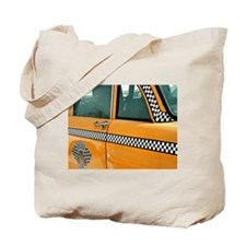 Checker Cab No. 3 Tote Bag