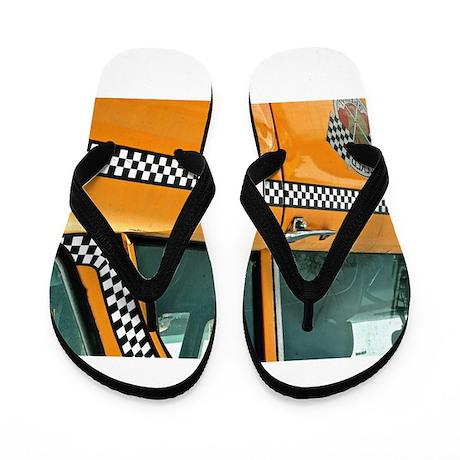 Checker Cab No. 3 Flip Flops