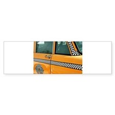 Checker Cab No. 3 Bumper Sticker