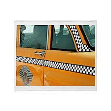 Checker Cab No. 3 Throw Blanket