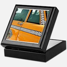 Checker Cab No. 3 Keepsake Box