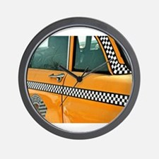 Checker Cab No. 3 Wall Clock