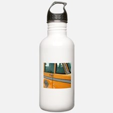 Checker Cab No. 3 Water Bottle