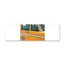 Checker Cab No. 3 Car Magnet 10 x 3