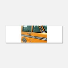 Checker Cab No. 3 Car Magnet 10 x 3