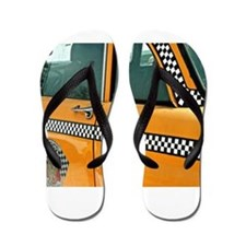 Checker Cab No. 3 Flip Flops