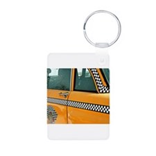 Checker Cab No. 3 Keychains