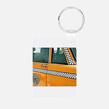 Checker Cab No. 3 Keychains