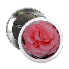 Central Rose from Rose Trio Button