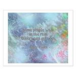 Rain Quote Small Poster