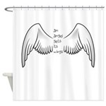 Angel Gets Wings Shower Curtain