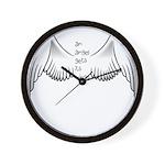 Angel Gets Wings Wall Clock