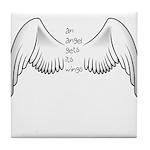 Angel Gets Wings Tile Coaster